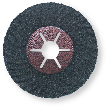 Vulcanized fiber disc ZEC 10° curved